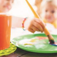 Anti-slip Mat Children Desktop Non-slip Placemats Fixed  Baby Accessories