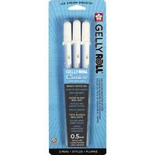 Sakura Gelly Roll Pen - Bold Point Gel Ink Pen - 3 PC Set - White 57453