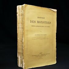 1880 HISTORY OF MONSTERS Histoire Des Monstres FIRST EDITION Superstitions