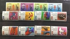 Zaire. Two Complete Mint Never Hinged Sets: # 1028-1035 And #1111-1114