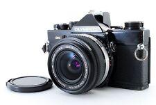 【Very Good】 OLYMPUS OM-2 Black SLR w/ Zuiko Auto-W 28mm F2.8 From JAPAN #0191554