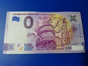 0 Euro Schein KRUMMHÖRN-GREETSIEL 2020-1