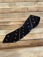 Robert Talbott Big and Tall Usa American Flag Silk Necktie Tie Red White Blue
