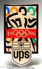OLYMPIC PINS 1996 ATLANTA UPS SPONSOR ARTISTIC LOGO