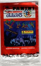 rare  set  4 envelopes   Copa America Chile 2015 Panini argentina version
