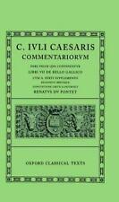 Commentarii: Volume I:  Bello Gallico cum A. Hirti Supplemento (Oxford Classica