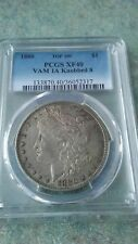 1880 Morgan Silver Dollar Vam1A Knobbed Eight
