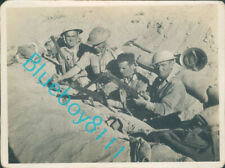 More details for ww2 british army north africa 1942-43 infantry cleaning weapons  4 x 3 inch