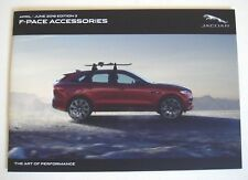 Jaguar . F Pace . Accessories . April - June 2016 . Sales Brochure