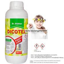 Dr. Stähler Dicotex 1Liter  Rasen  Unkrautvernichter   Klee Gänseblümche