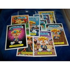 Garbage Pail Kids - 2012 BNS1 - Adam Bomb through history insert set of 10 cards
