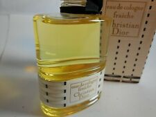 Christian dior FRAICHE EAU DE COLOGNE 112 ML 4 fl oz VINTAGE Full Unused