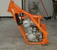Motore Completo 250cc 23cv 4 Tempi AlfaRAD + TELAIO Pit Bike Cross