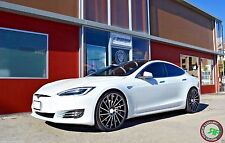 "22"" ROAD FORCE RF16 STAGGERED WHEELS RIMS FOR TESLA MODEL S SPORT 22X9 / 22X10.5"