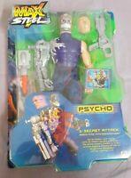 Max Steel Psycho Secret Attack Actionfigur Mattel 54175 unbespielt Ovp / Boxed