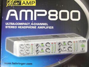 Behringer 4 Channel Stereo Headphone Amp