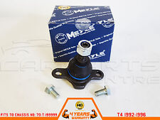 FOR VW TRANSPORTER T4 CARAVELLE FRONT LOWER BALL JOINT MEYLE HEAVY DUTY 92-96