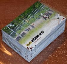 Walking Dead Season 4 Part 2 ~ BLACK PARALLEL Base Card Lot (60 total, no dupes)