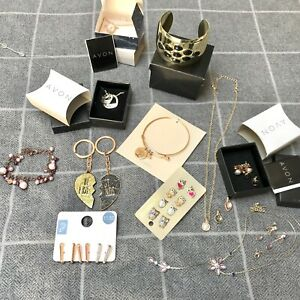 New and Used Job Lot Jewellery Bracelets Necklaces Earrings ~ Avon  Accessorize