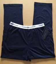 TOMMY HILFIGER Men's Pyjama Bottoms - Size L - BNWT - Navy Blue Logo PJs