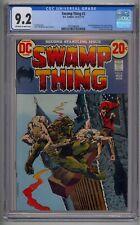 SWAMP THING #2 CGC 9.2 1ST FULL DR. ANTON ARCANE 1ST CAMEO PATCHWORK MAN
