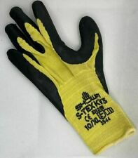 SHOWA S-TEX KV3 Cut Resistant made with Kevlar Latex Grip Glove Size 10/XL