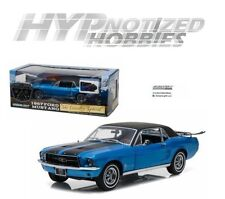 GREENLIGHT 1:18 1967 FORD MUSTANG COUPE SPECIAL DIE-CAST BLUE 12965