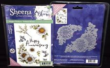 Gorgeous Gerbera Stamp Sets and Dies HTF by Crafter's Companion Sheena Douglass