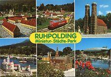 Alte Postkarte - Ruhpolding - Miniatur-Städte-Park