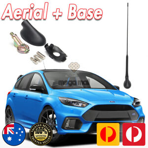 ANTENNA AERIAL AND BASE FOR FORD FOCUS FIESTA MONDEO PUMA TRANSIT CONNECT