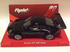 FLYSLOT PORSCHE 997 RSR STREET CAR BLACK NEW!!