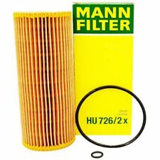 ORIGINAL Mann Filtro HU726 / 2x FILTRO DE ACEITE