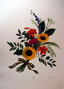 """Comer Jennings """"Boquet for the Victor""""  Limited Edition Lithograph 1996 Olympics"""