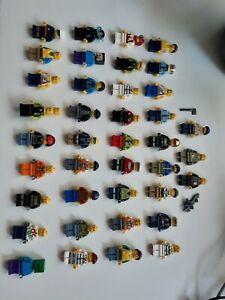 LEGO x43 Figures Bulk Lot Minifigures City Minecraft