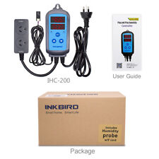 INKBIRD IHC-200 Digital Humidity Controller Humidifier Hygrometer Store care
