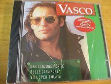 VASCO ROSSI TAKEDA VERDE CD SIGILLATO UNA CANZONE PER TE BOLLE DI SAPONE VITA...