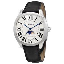 Cartier Drive de Cartier Silvered Flinque Dial Automatic Mens Watch WSNM0008