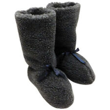 Handmade Sheep Wool Warm Long Slippers Boots winter House Shoes Christmas gift