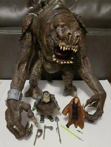 Star Wars 2008 Black Series - Rancor From Jabbas Palace + Gamorrean Guard + Luke