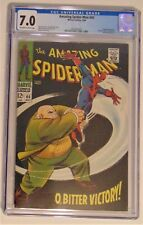 Marvels Amazing Spider-Man #60 CGC 7.0 Off-White to White Pages Kingpin App.