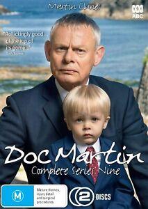 DOC MARTIN (COMPLETE SERIES 9 - DVD SET SEALED + FREE POST)