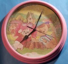 POOCHIE PINK DOG MATTEL Wall Clock