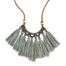 Bohemian Fashion Women Jewelry Long Tassel Pendant Rope Chain Sweater Necklace