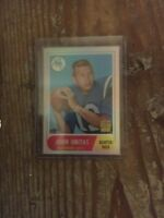 2000 Topps Refractor Johnny Unitas Reprint Baltimore Colts