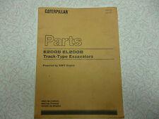 Cat E200B, EL200B Parts manual English original