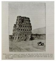 1907 Huntington - ANCIENT TURFAN - Archaeology - RUINS - Chinese Turkestan - 9