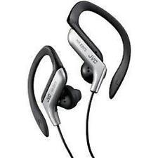 JVC haeb75 Sports Dans L'oreille clip sur ipod écouteurs Silver
