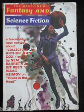 Vintage Magazine of Fantasy & Science Fiction - September 1971,Isaac Asimov (SF)