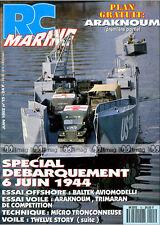 RC MARINE N°15 NUMERO SPECIAL DEBARQUEMENT DU 6 JUIN 1944, OVERLORD, ARAKNOUM