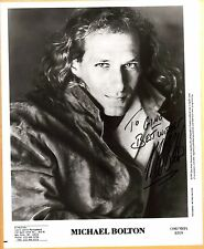 Michael Bolton-signed photo-28 a